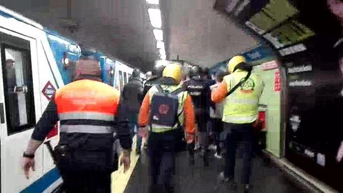 Seguridad metro Madrid
